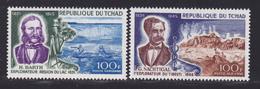 TCHAD AERIENS N°   53 & 54 ** MNH Neufs Sans Charnière, TB (D6997) Explorateur, Barth, Nachtigal - Chad (1960-...)