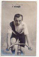 """ Carte Postale - Ancien Cycliste : P. Bendriès "" Vélo - Club USC ? - Radsport"