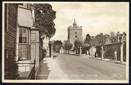 LEWES - St John The Baptist Church - Not Circulated - Non Circulé - Nicht Gelaufen. - Otros