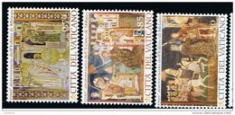 2013 - VATICANO - S19E - SET OF 3 STAMPS ** - Unused Stamps