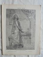 Ancien - Double Page Supplément Anales Politiques Et Littéraires N°492 11/1892 - Magazines: Abonnements