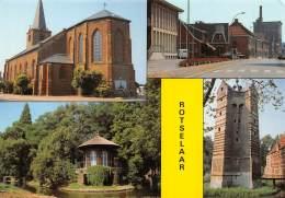 CPM - ROTSELAAR - Kerk, Gemeentehuis, Prieeltje Ingang - Rotselaar