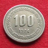 Korea South 100 Won 1974 KM# 9  Corea Coreia Do Sul Koree Coree - Korea, South