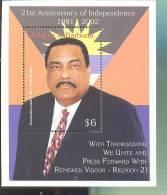 MNH ANTIGUA & BARBUDA #2606 : SOUVENIR SHEET INDEPENDENCE LESTER B BIRD - Antigua And Barbuda (1981-...)