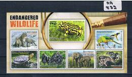 Australia 2016  Wildlife 7val Mini Sheet F/used AA822 - 2010-... Elizabeth II