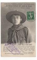 Cp LIGUE D' EDUCATION NATIONALE - ECLAIREURS FRANÇAIS BOY - SCOUT DE FRANCE - Scouting