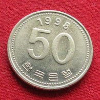 Korea South 50 Won 1998 KM# 34 Fao F.a.o. Corea Coreia Do Sul Koree Coree - Korea, South