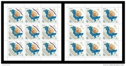Russia 2013 Mih. 2003/04 Federal Assembly Of Russian Federation (2 M/S) MNH ** - Unused Stamps
