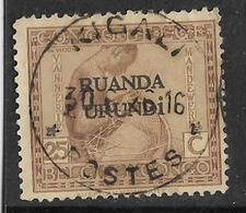 _5Bm-714 : KIGALI   * POSTES * - Ruanda-Urundi