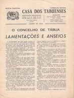 Tábua - 2 Boletins Da Casa Dos Tabuenses De 1956 E 1957. Coimbra. - Magazines