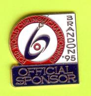 Pin's Ford World Curling Championships Brandon '95 Official Sponsor - 3T17 - Ford