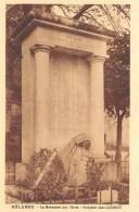 INDRE  36   BELABRE  LE MONUMENT AUX MORTS - SCULPTEUR JEAN CLEMENT  GUERRE 14 18 - France