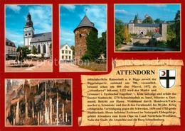 73209738 Attendorn Burg Schnellenberg Attahoehle Attendorn - Attendorn