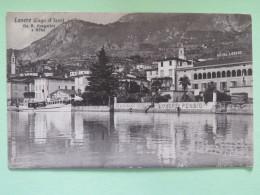 "Italy 1913 Postcard """"Lovere - Lago D'Iseo"""" To England - 1900-44 Victor Emmanuel III"