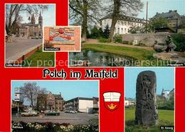 73213960 Polch Kath Kirche Freizeitpark Rathaus St Georg Polch - Alemania