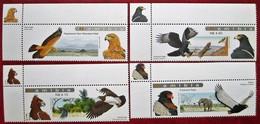 Namibia   2009   Birds  4v  MNH - Águilas & Aves De Presa