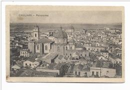 CAGLIARI - PANORAMA 1921  VIAGGIATA FP - Cagliari