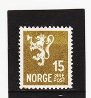 AUA1000  NORWEGEN 1937  MICHL 183 ** Postfrisch  ZÄHNUNG Siehe ABBILDUNG - Norwegen