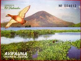 El  Salvador  1999  Ducks  S/S  MNH - Canards
