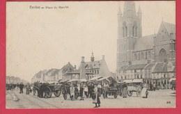 Eeklo - Marktplaats  ... Super Geanimeerd  ( Verso Zien ) - Eeklo