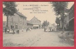 Scherpenheuvel - De Statie Van Buiten ( Verso Zien ) - Scherpenheuvel-Zichem