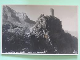 Italy Around 1920 Unused Postcard - Garessio Ad Ormea - Torre Dei Saraceni - Italia