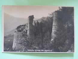 Italy Around 1920 Unused Postcard - Garessio - Ruderi Del Castello - Castle Ruins - Italia