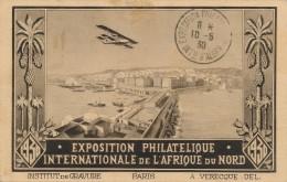 H128 - Exposition Phylatélique Internationale De L'Afrique Du Nord - 1930 - Timbres (représentations)