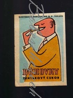71-164 CZECHOSLOVAKIA 1959 Slovenske Skrobarne Trnava Duhovky - Potato Sugar Amyloid Hydrolyzers Treated - Boites D'allumettes - Etiquettes