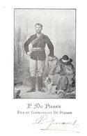 P. Du Plessis - Fils Du Commandant Du Plessis - Politieke En Militaire Mannen