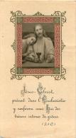 IMAGE RELIGIEUSE CANIVET  EUCHARISTIE  IMAGE EN RELIEF - Images Religieuses