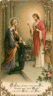 IMAGE RELIGIEUSE CANIVET   O JESUS DONNEZ MOI MON PAIN - Images Religieuses