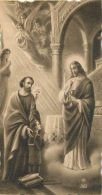 IMAGE RELIGIEUSE CANIVET   EGLISE SAINTE  FARE DE FAREMOUTIERS   1936 - Images Religieuses