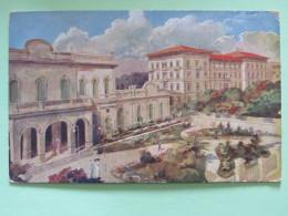 Italy Around 1920 Unused Postcard - Bagni De Montecatini - Theatre - Italy