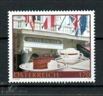 """Österreich 2018: """"Hotel Sacher""""   Postfrisch (siehe Foto) - 1945-.... 2nd Republic"""