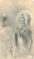IMAGE RELIGIEUSE CANIVET   SOUVENIR COMMUNION EGLISE SAINTE FARE FAREMOUTIERS - Santini