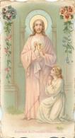 IMAGE RELIGIEUSE CANIVET SOUVENIR DE PREMIERE COMMUNION - Devotion Images
