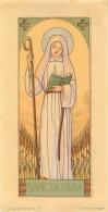 IMAGE RELIGIEUSE CANIVET  SANCTA FARA - Images Religieuses