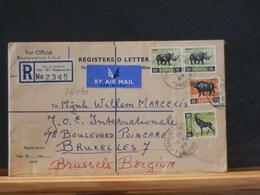 76/070  LETTER 1967 TO BELG. - Kenia (1963-...)