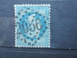 """VEND BEAU TIMBRE DE FRANCE N° 29A , G.C. """" 2056 """" !!! - 1863-1870 Napoléon III Lauré"""
