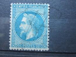 """VEND BEAU TIMBRE DE FRANCE N° 29B , ETOILE """" 4 """" !!! - 1863-1870 Napoléon III Lauré"""