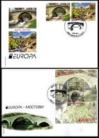 Macedonia / 2018 / FDC / Europa / Bridges - Macedonië