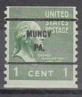 USA Precancel Vorausentwertung Preo, Bureau Pennsylvania, Muncy 839-61 - Vereinigte Staaten
