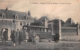 ¤¤  -   VANNES   -  Pensionnat N.D.du Ménimur  -  Le Dépard De L'Auto  -  Bus , Car  -  ¤¤ - Vannes