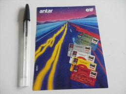 Autocollant - Automobile - Carte De Crédit Antar Elf - Autocollants