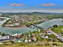 Shkodra Albanien - Albanien