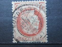 """VEND TIMBRE DE FRANCE N° 51 , BRUN ROUGE FONCE , CACHET """" BORDEAUX """" !!! - 1871-1875 Ceres"""