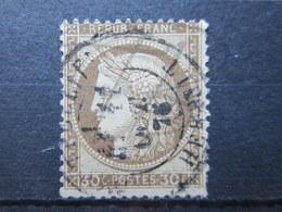 """VEND TIMBRE DE FRANCE N° 56 , CACHET """" MONTPELLIER """" !!! - 1871-1875 Ceres"""