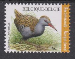 BE 2017 -BUZIN  N° 4671 XX  Râle D'eau - Timbre à Validité Permanente Pour Envoi Recommadé - Bélgica