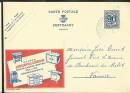 Publibel Obl. N° 1005 ( Maison Boclinville-Corbisier - Bertrix)  Obl. 1952 - Publibels